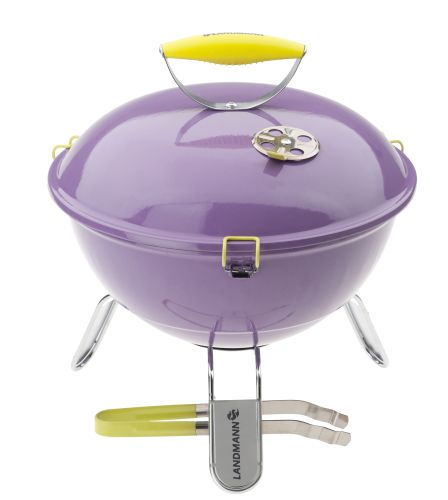 Barbecue Piccolino paars