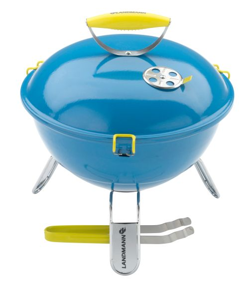 Barbecue Piccolino blauw