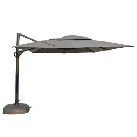 Parasol Hacienda Taupe 300x400 cm - 4 Seasons Outdoor