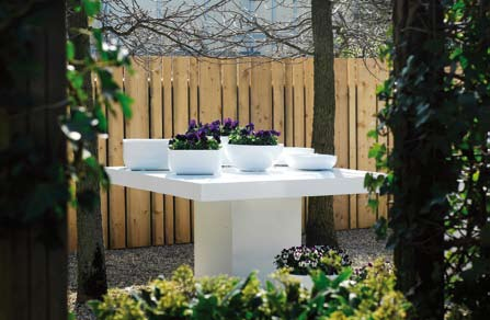 Table Glossy White