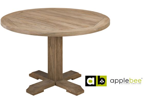 Bridge teak tuintafel 120 round Applebee