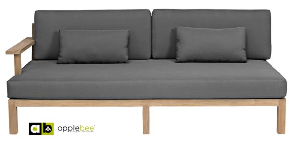 Applebee loveseat XXL-Factor rechts