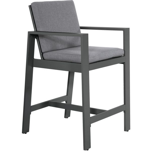 Outdoor Living barkruk Malibu Charcoal