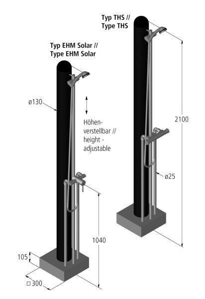 Tuindouche Sumatra Solar Ideal