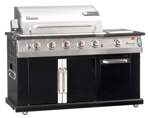 Avalon PTS 6.1+ gasbarbecue met afdekhoes