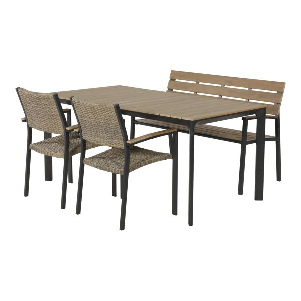 Outdoor Living diningset Arezzo bank