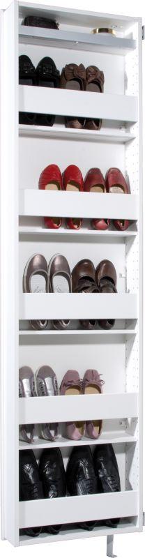 Draaibare schoenenkast Fuldi wit