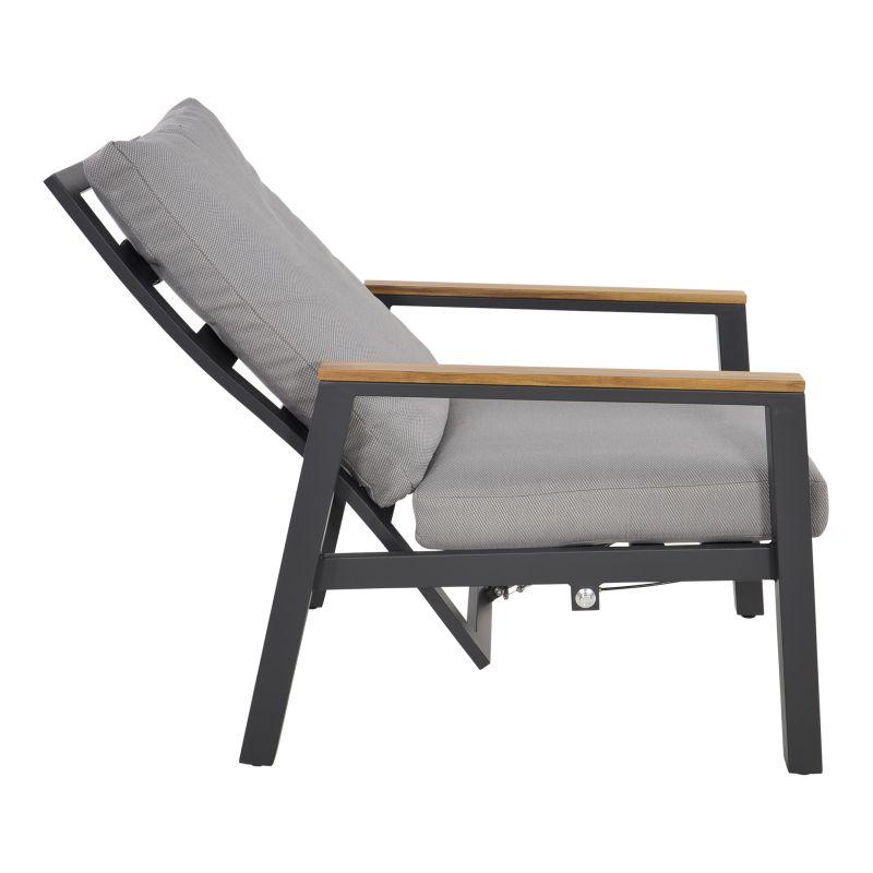 Outdoor Living loungeset duoset Coda charcoal
