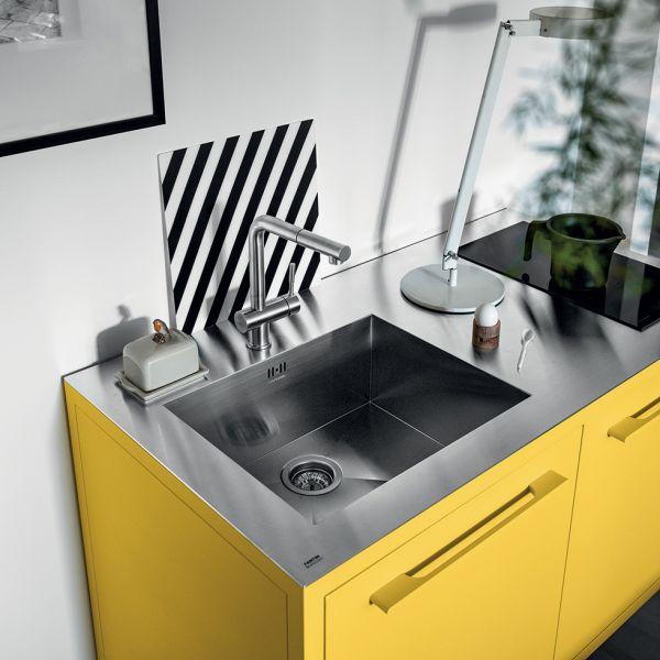 Fantin Frame keuken blok 2-delig met Smeg vaatwasser
