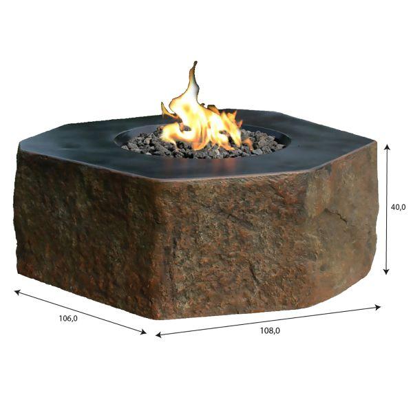 Gashaard Dukono - Elementi