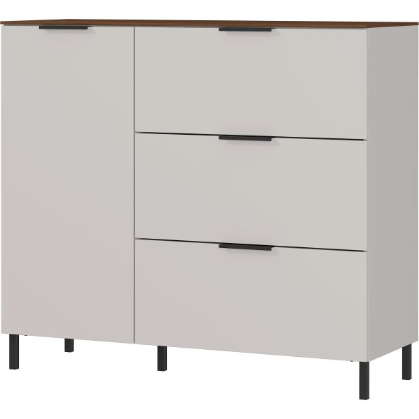 Commode / opbergkast California cashmere walnoot - Germania