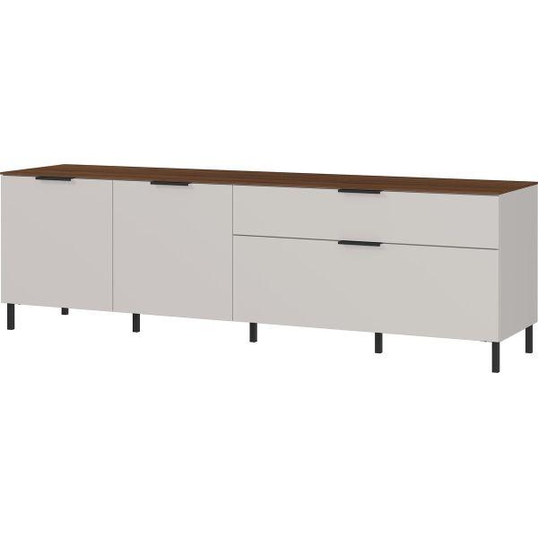 Tv-meubel California cashmere walnoot 192 cm - Germania
