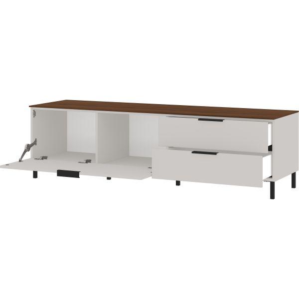 Tv-meubel California cashmere walnoot 164 cm - Germania