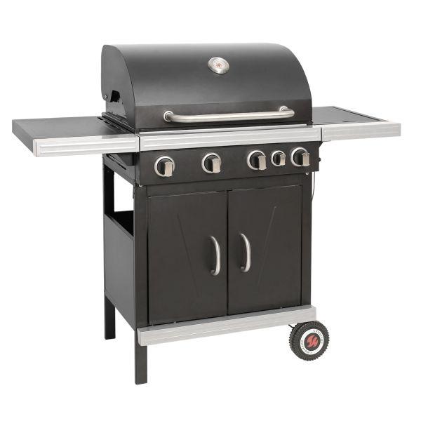 Grillchef buitenkeuken - 4 branders + zijbrander