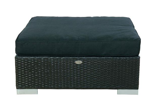 Hocker London zwart