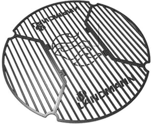 Landmann houtskoolbarbecue Kepler 600
