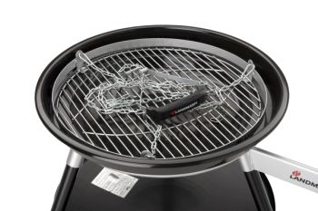 Houtskool barbecue Landmann Zwenkgrill