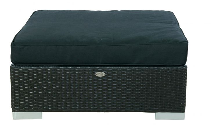 Hocker London zwart z