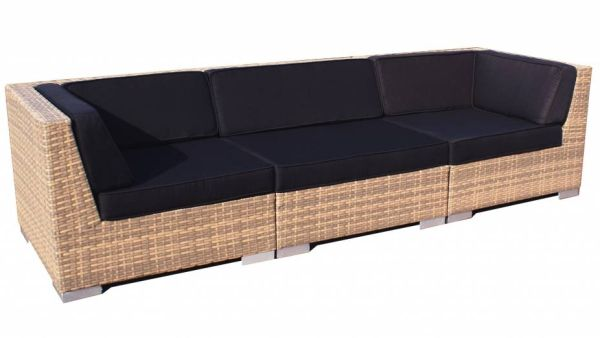 Loungeset Moray 3-delig - cappuccino wicker