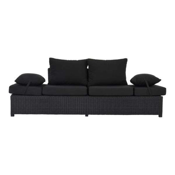 Outdoor Living loungebank Roma Black