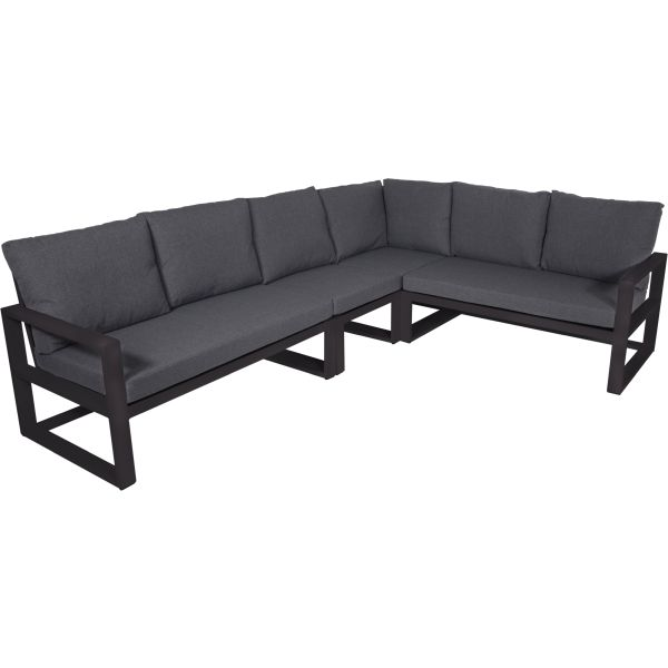 Outdoor Living loungehoekset Pina Colada Negro