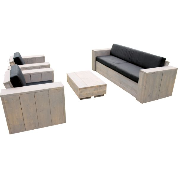 Steigerhout loungeset Eagle Beach