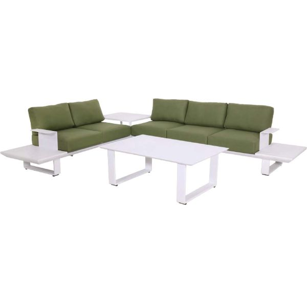 Outdoor Living loungehoekset Espressi Snow