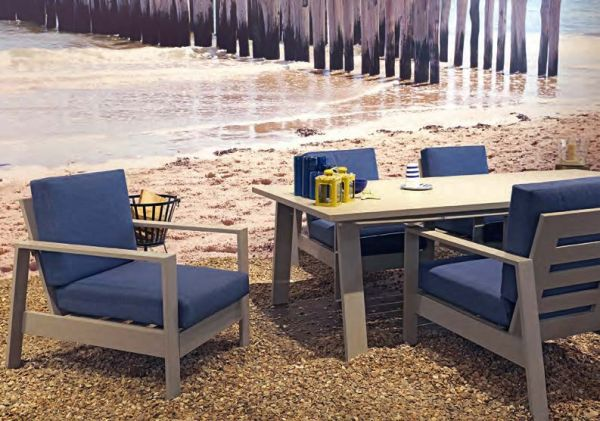 Outdoor Living loungestoel Malibu - set van 2