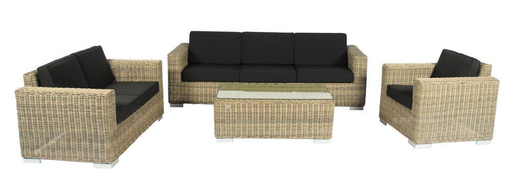 Loungeset Parijs naturel