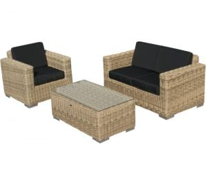 SVG Outdoor loungeset Parijs naturel serie II