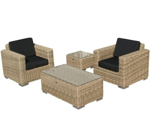 SVG Outdoor loungeset Parijs naturel serie V