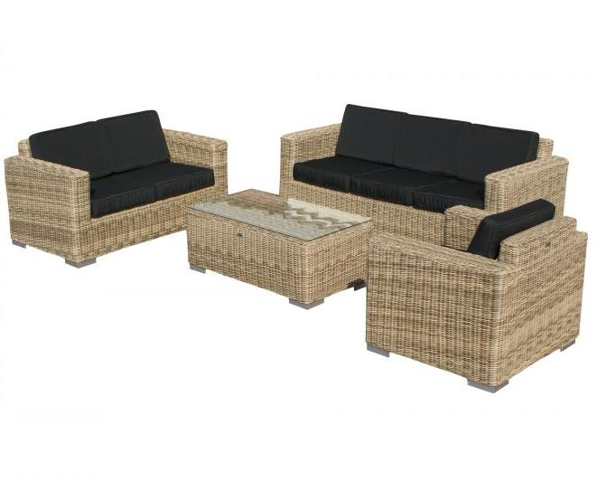 SVG Outdoor loungeset Parijs naturel serie I