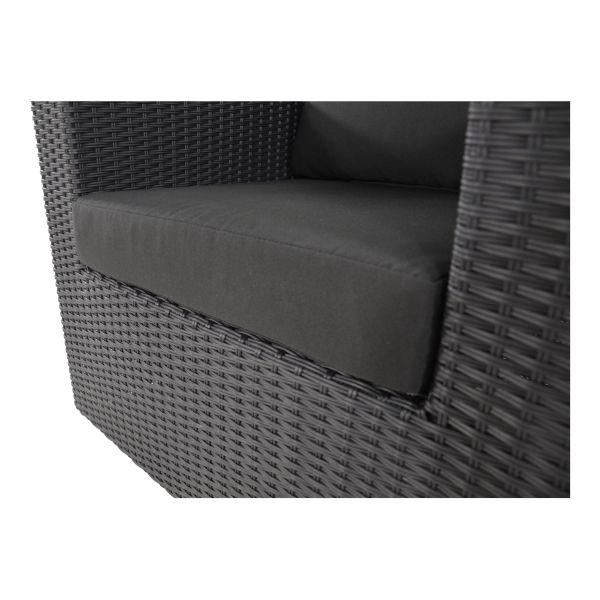Outdoor Living loungeset Roma Black