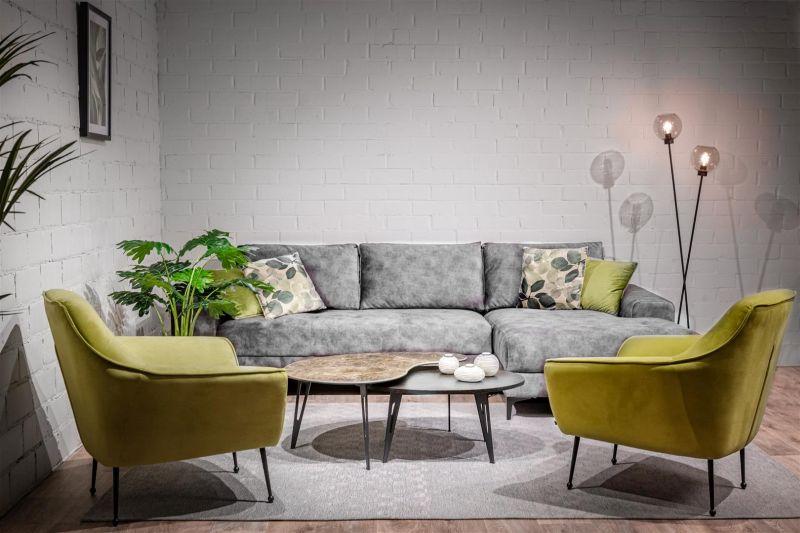Loungestoel Freija geel - Dekimpe