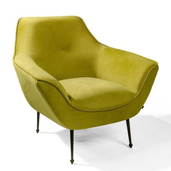 Loungestoel Freija groen - Dekimpe
