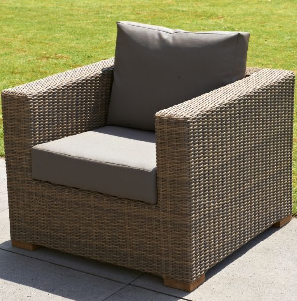 Loungestoel Moray lightbrown