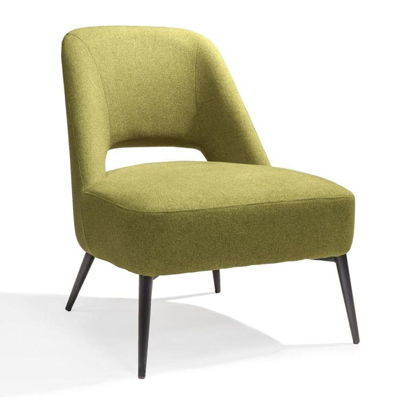 Loungestoel Senne geel - Dekimpe