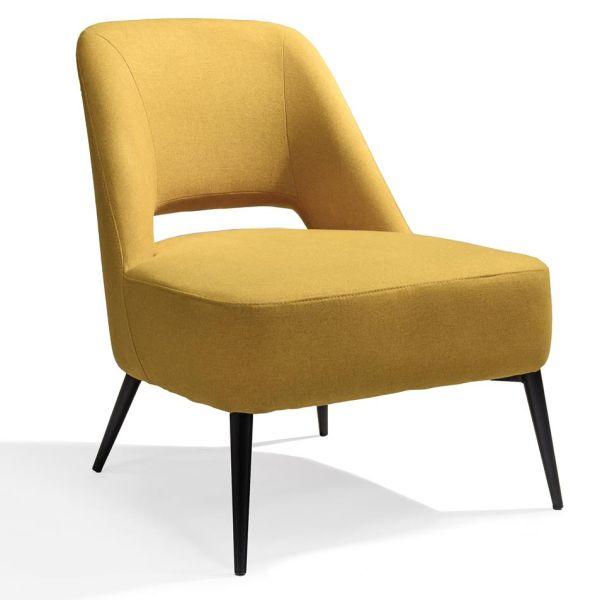 Loungestoel Senne antraciet - Dekimpe
