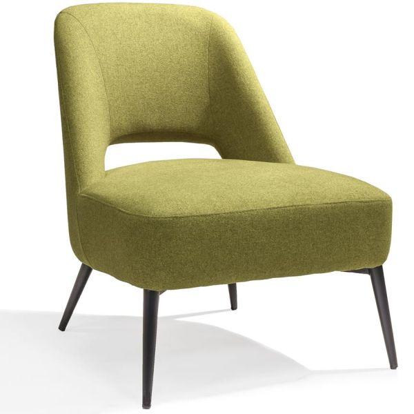 Loungestoel Senne groen - Dekimpe
