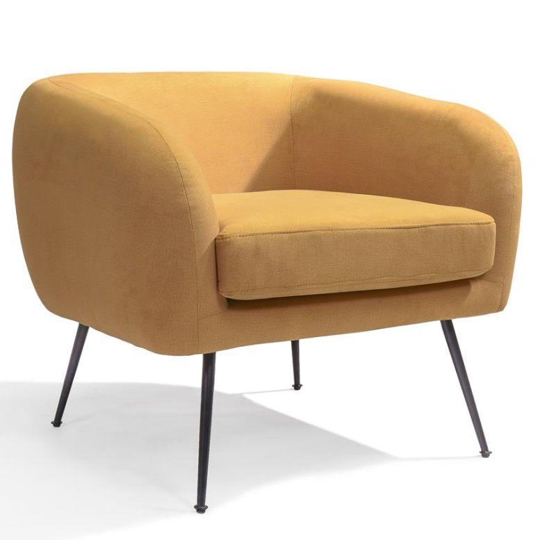 Loungestoel Solan antraciet - Dekimpe