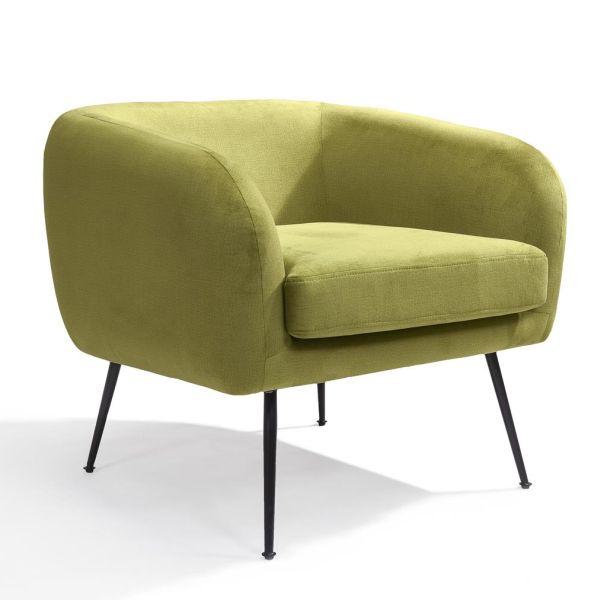 Loungestoel Solan groen - Dekimpe