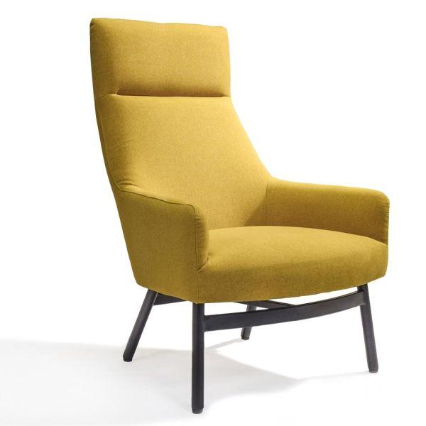 Loungestoel Stella geel - Dekimpe