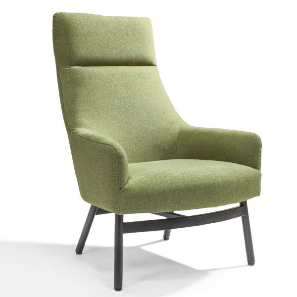 Loungestoel Stella groen - Dekimpe