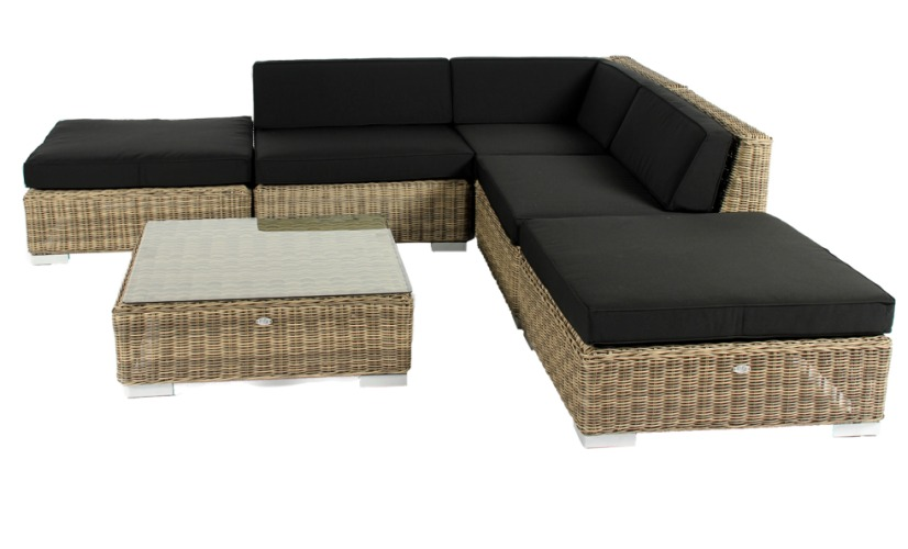 Loungeset Moray naturel