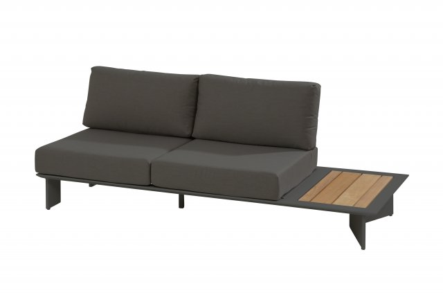 Loungebank Lovina R matt carbon L