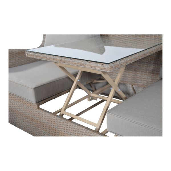 Outdoor Living loungeset Pandora Straw