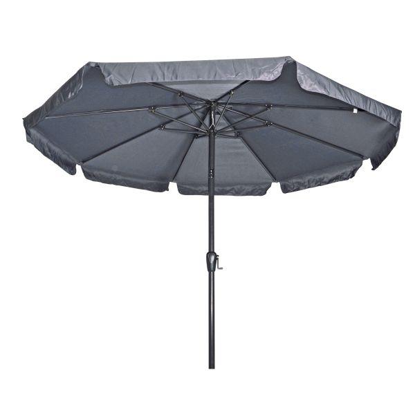 Outdoor Living Libra stokparasol Ø300 cm zwart