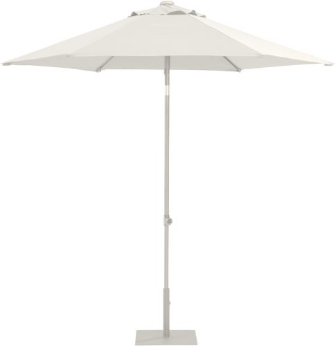 4 Seasons Outdoor Parasol PushUp Ø300
