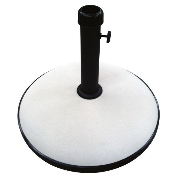 Parasolvoet rond beton beige30kg