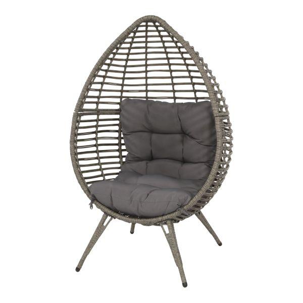 Outdoor Living relax stoel Chill grijs